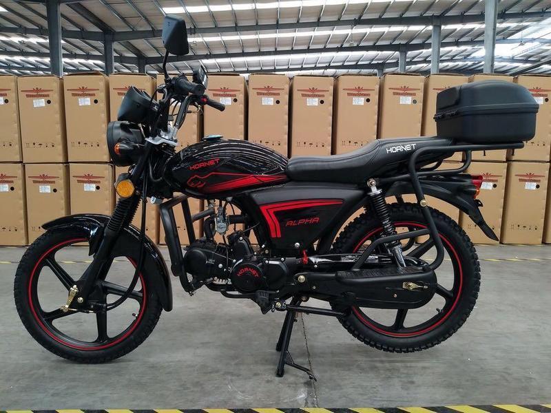 Мотоцикл HORNET Alpha 125куб.см черный