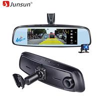 Видеорегистратор оригинал junsun k755  -  adas 4G android  зеркало с кронштейном