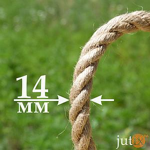 Джутовая веревка 14 мм