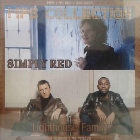 MP3 диск Simply Red / Lighthouse Family - MP3 Collection