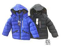 Куртка утепленная для мальчиков оптом, Nature, 3-8 лет,  № RSB-5511, фото 1