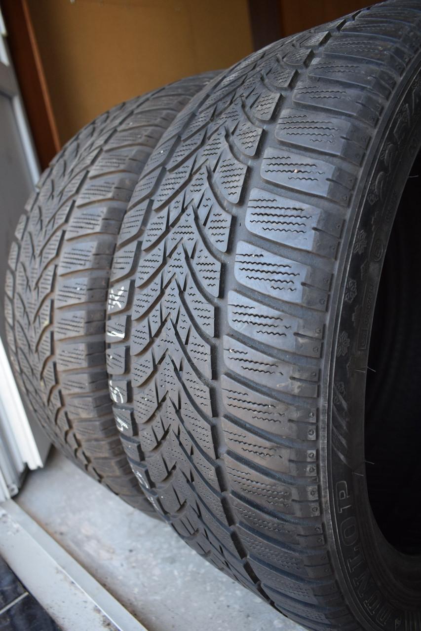 Шины б/у 225/45 R17 Dunlop, ЗИМА, пара