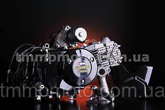 Двигатель-125куб 157FMN полуавтомат чёрный ТММР, фото 3