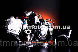 Двигатель-125куб 157FMN полуавтомат чёрный ТММР