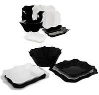 Столовый сервиз Luminarc Authentic Black&White 19 предметов (LUM-E6195_psg)