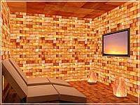 Строительство соляной комнаты из гималайской соли 2,0м х 2,0м