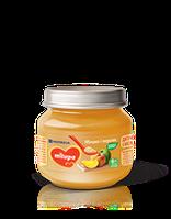 Пюре Яблоко и персик Milupa 125 гр от 6 месяцев