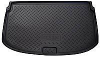 Коврик в багажник для Chevrolet Aveo НВ (11-) полиуретановый NPL-P-12-04