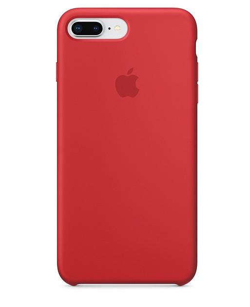 "Накладка iPhone 7/8+ ""Original Case"" Красная"
