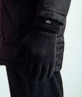 Мужские перчатки Pobedov  зимние теплые оригинал в черном цвете