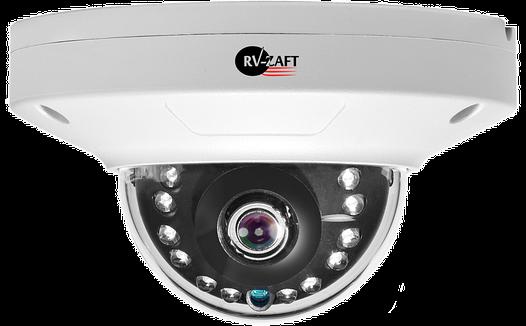 3.0MP Мини-купольная HD Ultra WDR IP Камера RVA-DM350BC83-DEAP
