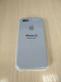 Чехол для Apple Silicone Case (05) iPhone 5/5S/SE lilac cream