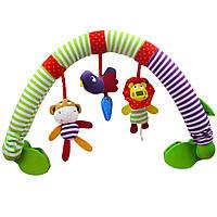 Дуга для коляски и автокресла Львенок и обезьянка Mami and Beby