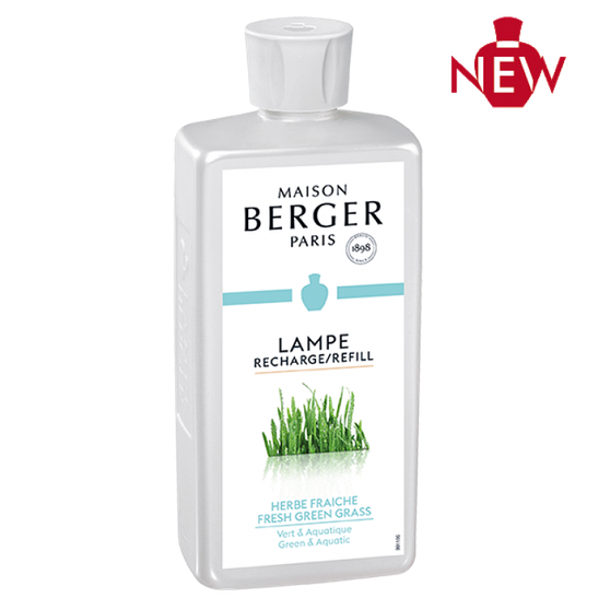 Наполнитель (Лампа) 500ml: FRESH GREEN GRASS Lampe Berger