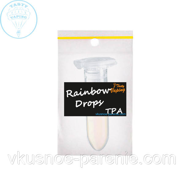 Ароматизатор Rainbow Drops (Радужные капли) TPA 1мл