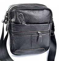 Мужская кожаная сумка 1030 Black купить мужскую кожаную сумку