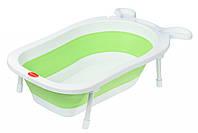 Детская складывающаяся ванночка BabaMamaSame Toy  зеленый