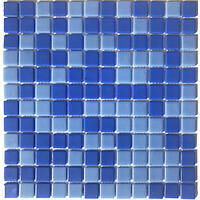 Мозаика стеклянная на сетке Vivacer VPmix21