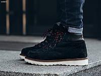 Мужские черные зимние ботинки Staff NORTH black