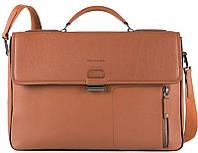 Портфель Piquadro DAVID CA4419W86_CU,  для ноутбука 15,6 дюймов, коричневый