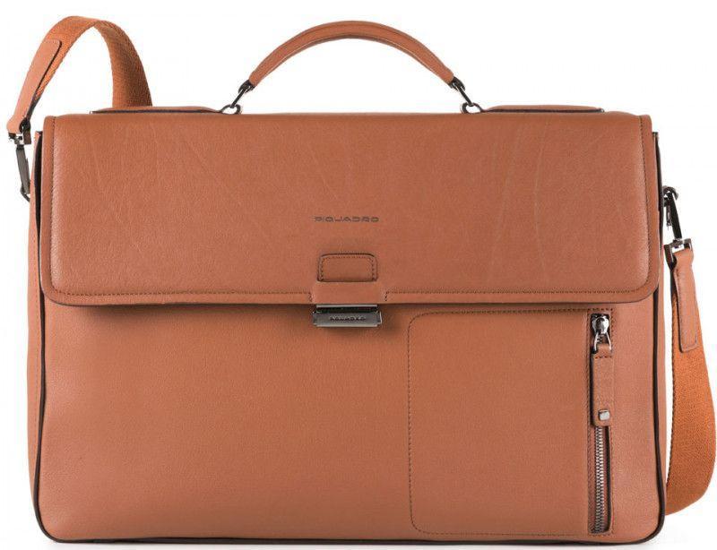 d032e0044ba0 Портфель Piquadro DAVID CA4419W86_CU, для ноутбука 15,6 дюймов, коричневый  - SUPERSUMKA интернет
