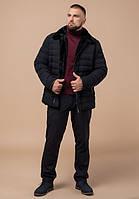 Braggart Status 17768 | Куртка мужская с меховым воротником черная