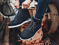 Мужские темно-синие зимние ботинки Staff Mountain Boots Navy, фото 1