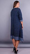 Женское демисезонное платье большие размеры: 52-64, фото 2