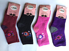 Подростковые махровые носки Алия Р.р 30-35
