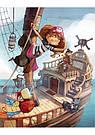 Банда Пиратов. Таинственный остров. Книга 2. Книга Жульетт Парашини-Дени и Оливера Дюпена, фото 6