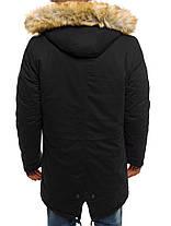 Мужская зимняя куртка AK-CLUB черная, фото 3