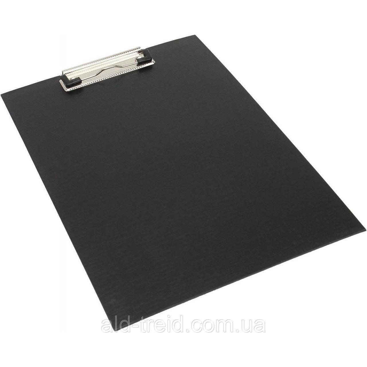 Планшет А4 Buromax 3411-01 ПВХ черный