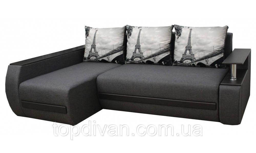 """Угловой диван """"Гаспаро"""""""" ткань Эйфель"""