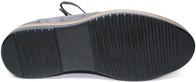 Туфли мужские Richesse R - 463 делают на 2-сантиметровой полиуретановой плоской подошве.