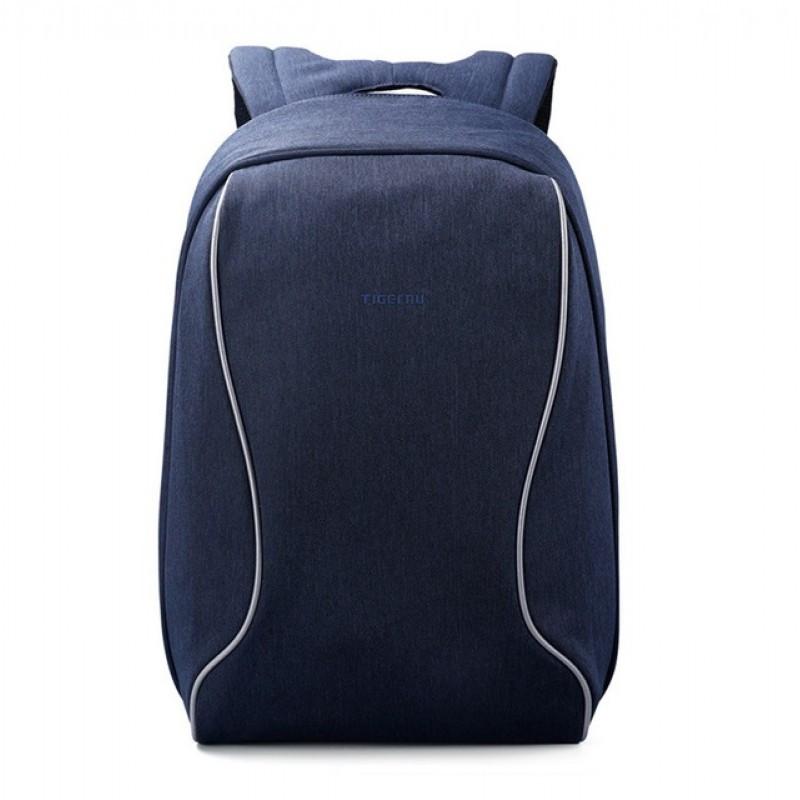 """Городской рюкзак для ноутбука 14"""" Тigernu (Тайгерну), синий цвет"""