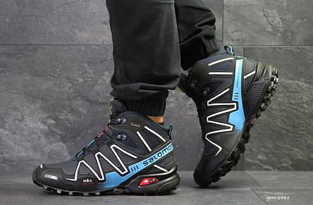 Высокие зимние мужские кроссовки Salomon Speedcross 3 1e53cfcea187c