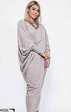 Хит сезона! стильное женское платье очень большой размер 58-64, фото 3