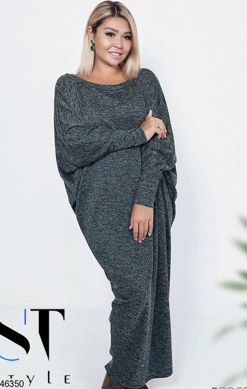 Хит сезона! стильное женское платье очень большой размер 58-64