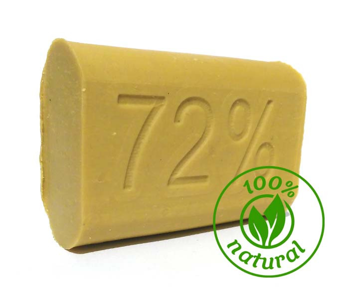 Мило господарське коричневе 72%(180гр)