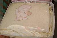 Комплект сменного постельного белья 9 в 1 Хлопок Ангел