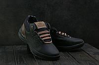Мужские зимние ботинки Ecco Черные натур кожа (реплика) 4d8a892962e08