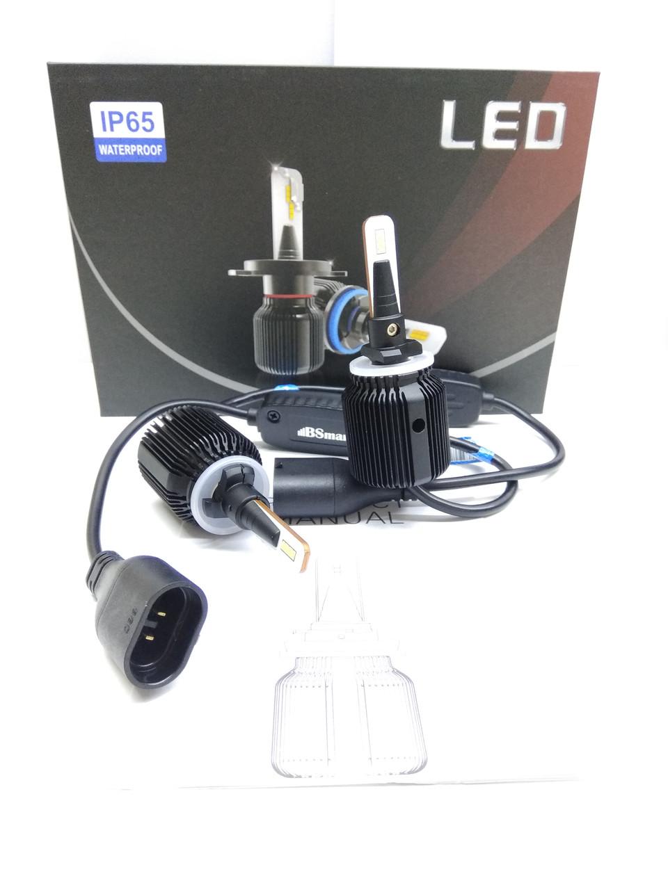 LED светодиодные авто лампы M1 CSP Южная Корея, H27 880, 8000 Люмен, 40Вт, 9-32В