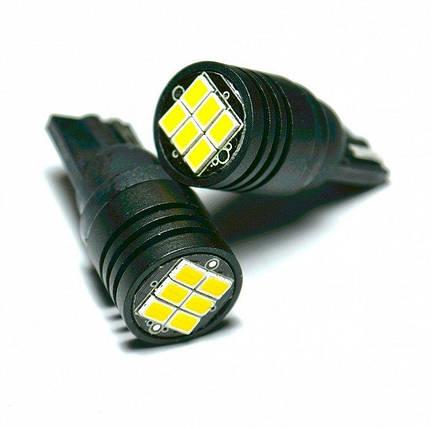 LED лампа STELLAR в габариты, стопы, повороты K6 - цоколь Т10 (CanBus), фото 2