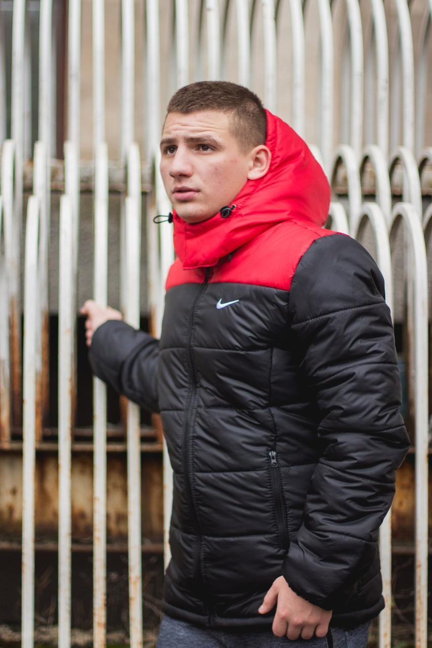 f45d4fa1 Зимняя мужская куртка Nike Найк (реплика): продажа, цена в Киеве ...