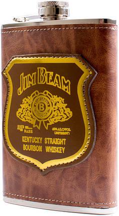Фляга обтягнута шкірою (256мл) Jack Daniels PB-9-1, фото 2