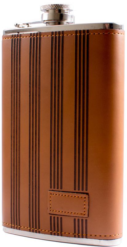 Фляга обтягнута шкірою (284мл) BP-10