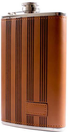 Фляга обтягнута шкірою (284мл) BP-10, фото 2