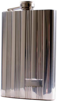 Фляга з неіржавіючої сталі (256мл) STL-9, фото 2