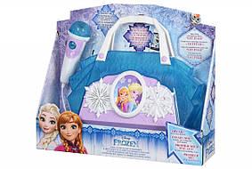 Портативная акустика eKids Disney Frozen, караоке, Lights flash, mini-jack, фото 3