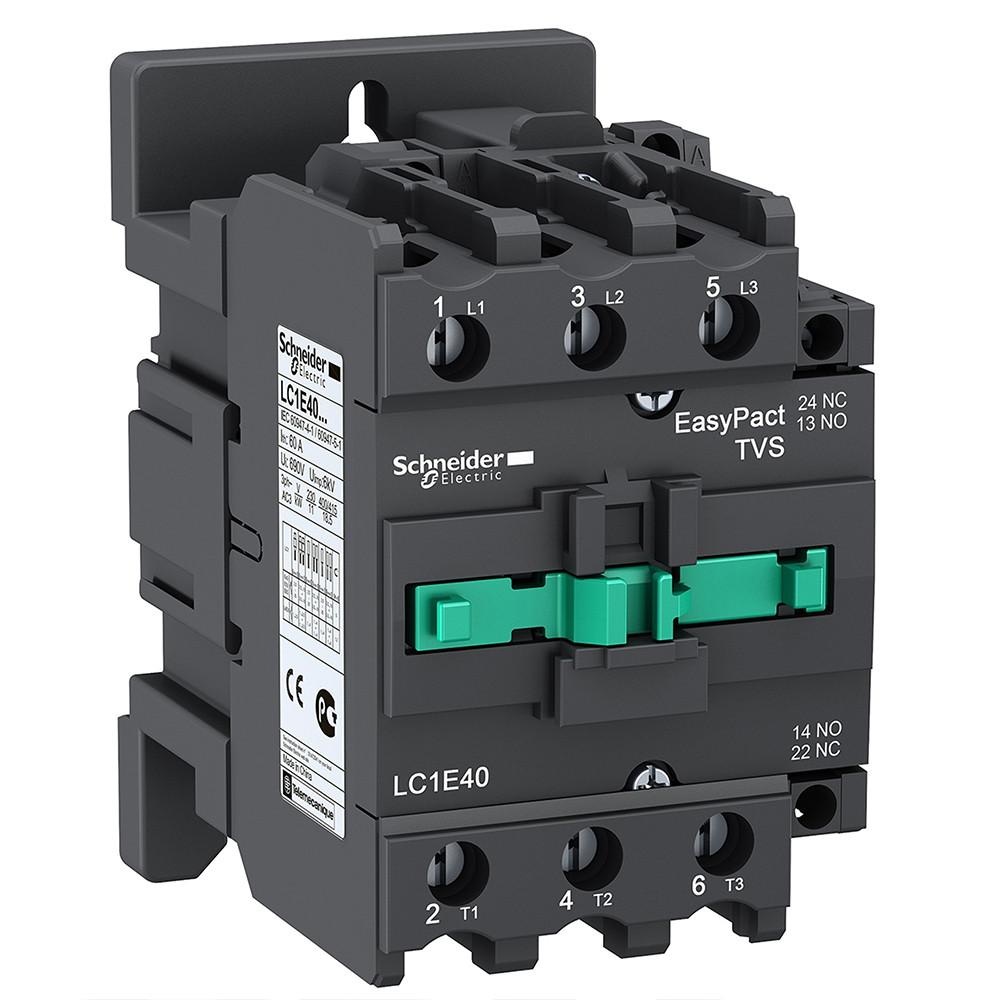 Контактор 40A 3Р 1 NO + 1 NC кат. ~220В 50Гц LC1E40M5